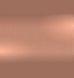 rose gold brushed metallic texture shiny polished vector image