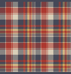 tartan coarse fabric texture seamless pattern vector image
