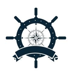 Timon wheel maritime icon vector