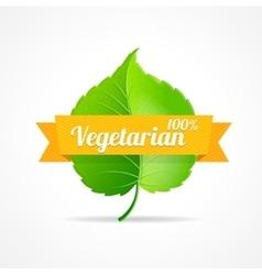 Vegan label vector