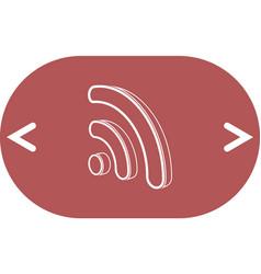Wifi symbol icon vector