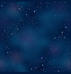 cloudy night space skyscape starry background vector image vector image