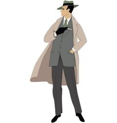 1950s man vector image vector image