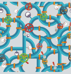 industrial technologic seamless pattern vector image vector image