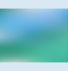 abstract green blue blur backdrop vector image