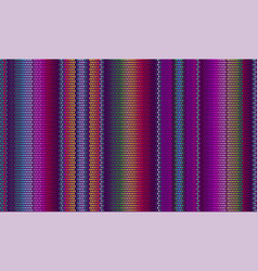 blanket stripes seamless pattern cinco de mayo vector image