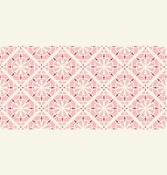 Border arabic pattern vector