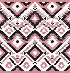 Ethnic hand drawn seamless pattern vector