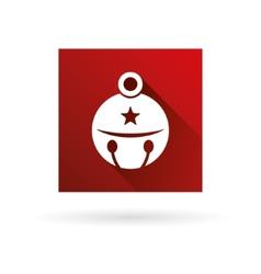 jingle bell icon vector image