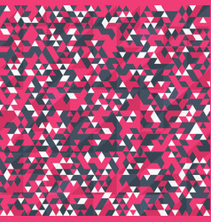 red color triangle pattern vector image