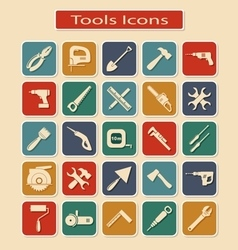 Set of Tools Icons vector