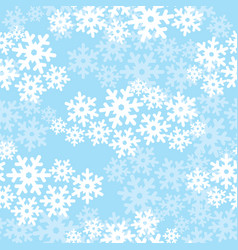 snow seamless pattern christmas winter holiday vector image
