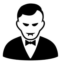 Vampire Flat Icon vector