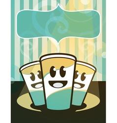 Hot Beverages vector image