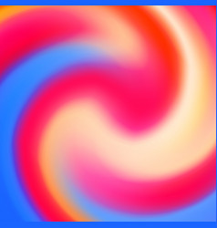 abstract circle creative fluid multicolored vector image