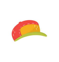baseball cap boys wear on a vector image