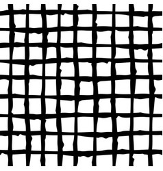 Black and white criss-cross pattern hand-drawn vector