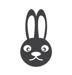 Bunny rabbit icon vector