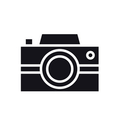 Camera icon photography logo digital camera vector