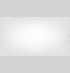 geometric dot mesh gradient wave halftone back vector image