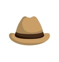 Hat icon male clothes design graphic vector