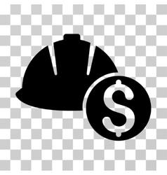 Helmet Price Icon vector