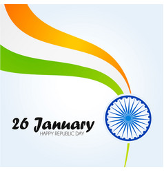 India republic day 26 january indian background vector