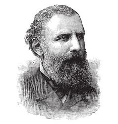 lyman judson gage vintage vector image