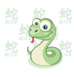 Snake Year vector