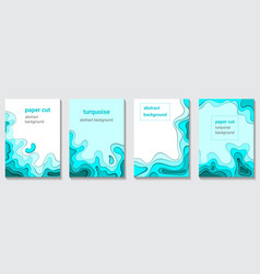 Abstract background of figures and waves color of vector