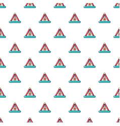 Attraction pendulum pattern seamless vector
