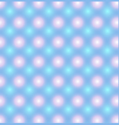 Blue pattern with pink and blue glowing circles vector