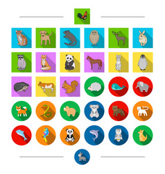 Ecology protection birds and other web icon in vector