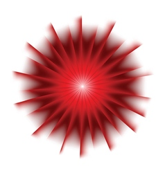 Explosion background with red colors vector