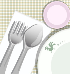 Meal background vector