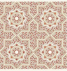 Patterned floor tile moroccan pattern vector