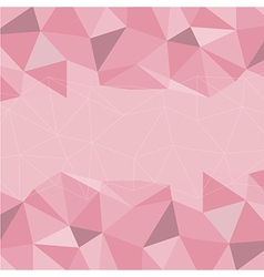 Pink Mosaic Background Creative Business Design T vector image