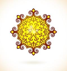 Round ornament vector