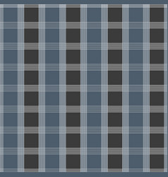 seamless tartan pattern blue and grey kilt fabric vector image vector image