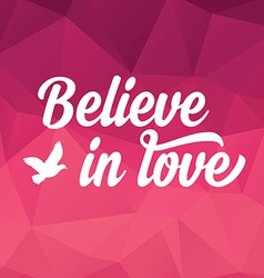 Valentines Day posterTypography Love quote vector image