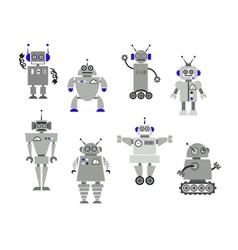Robot toys vector image