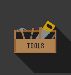 tools flat icon vector image