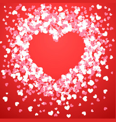 abstract love for your valentines day vector image