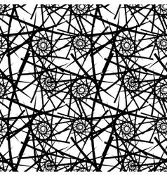 Abstract seamless needlecraft pattern vector image