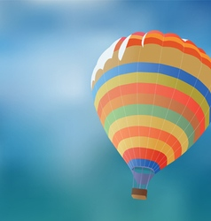 Balloon on a background blue sky vector