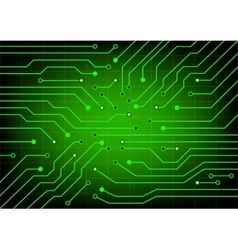 Electrical circuit eps 10 vector image