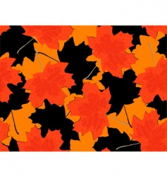 leaf fall vector image