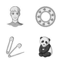 profession atelier and other monochrome icon in vector image