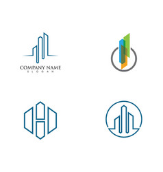 Property and construction logo vector