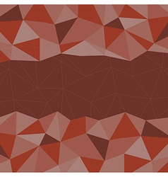 Red Mosaic Background Creative Business Design Te vector